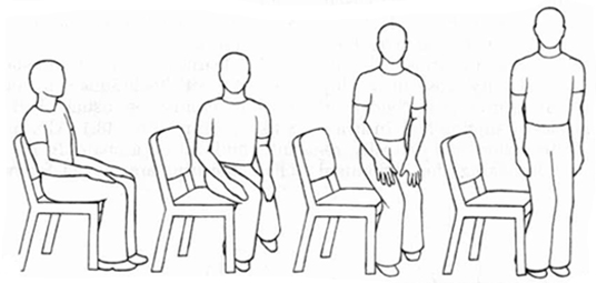 Sit And how to sit and stand